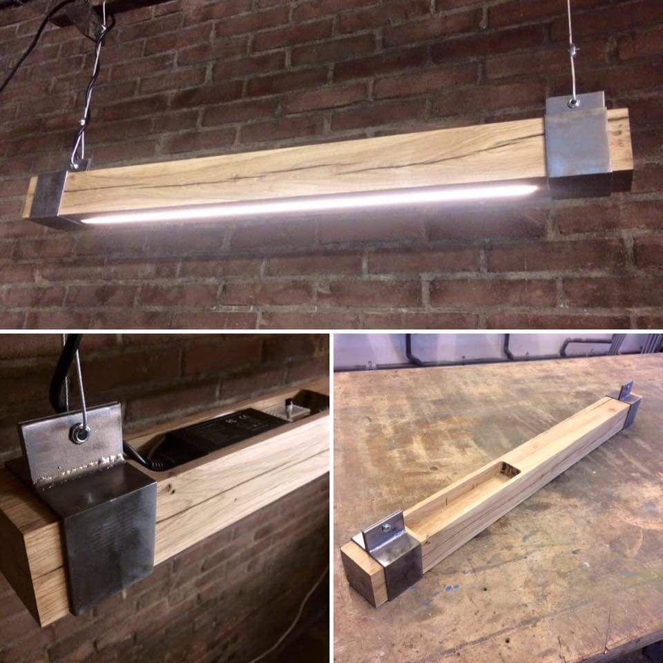 Garage Lighting Beleuchtungsideen Holzleuchte Ladenbeleuchtung