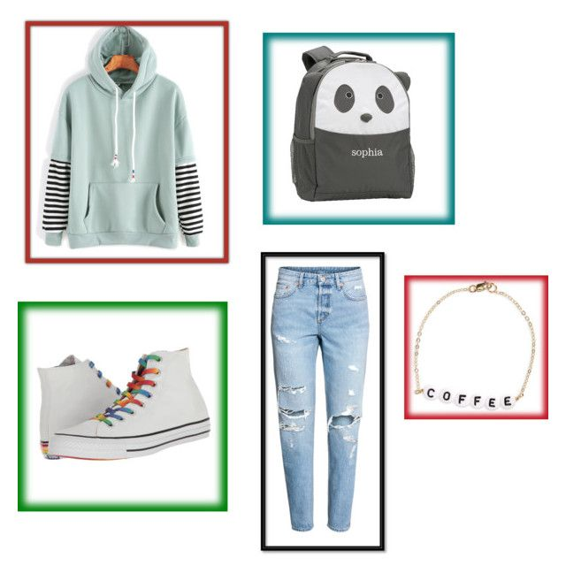 """Simple but cute"" by wafflekahea on Polyvore featuring Converse, PBteen and Ryan Porter"