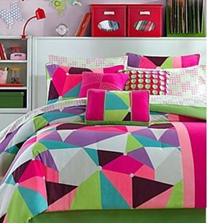Neon bedrooms for teens neon green bedding for teens for Neon bedroom decor