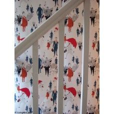 Wallpaper - London City gents red