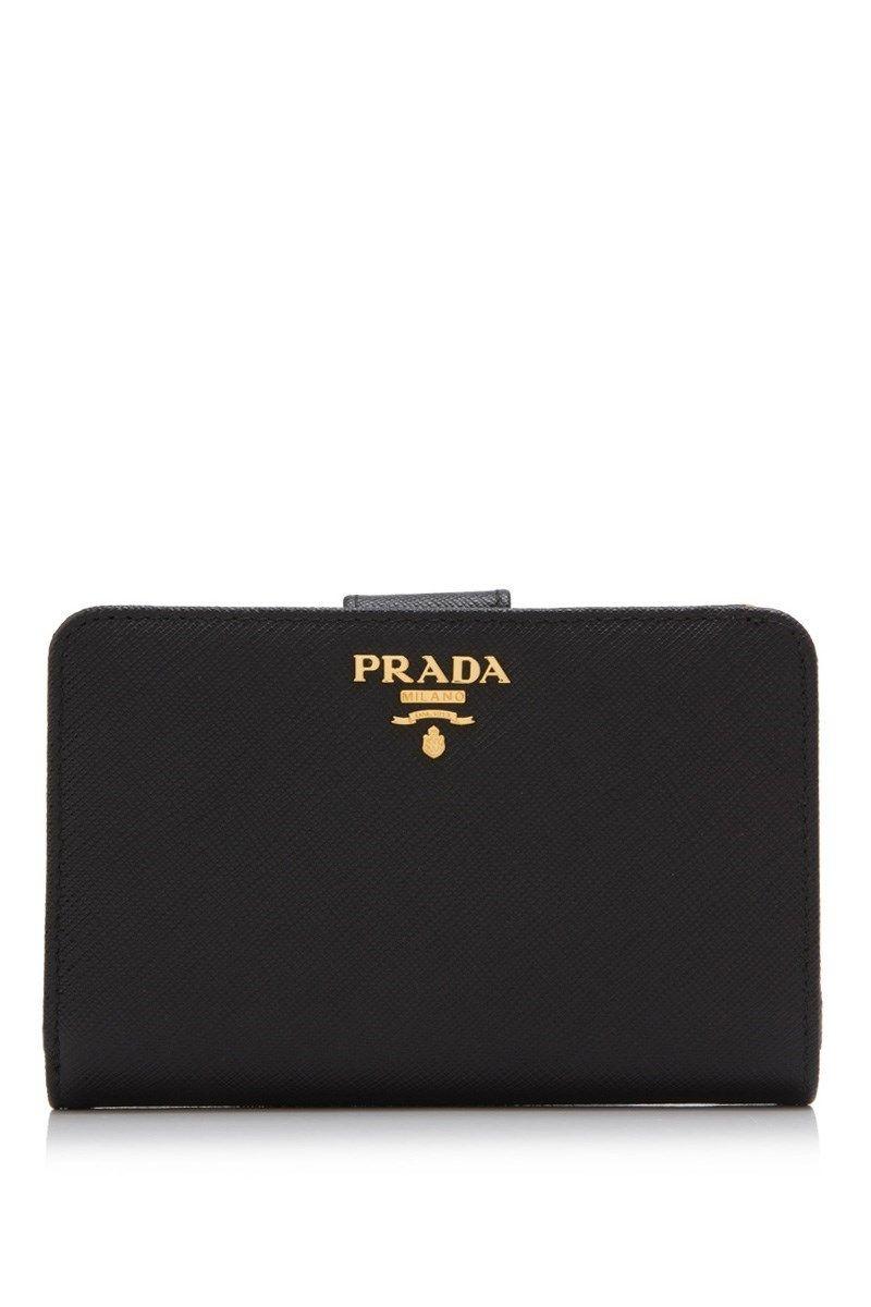 413e69031ab2 Prada - Prada Saffiano Metal Short Wallet