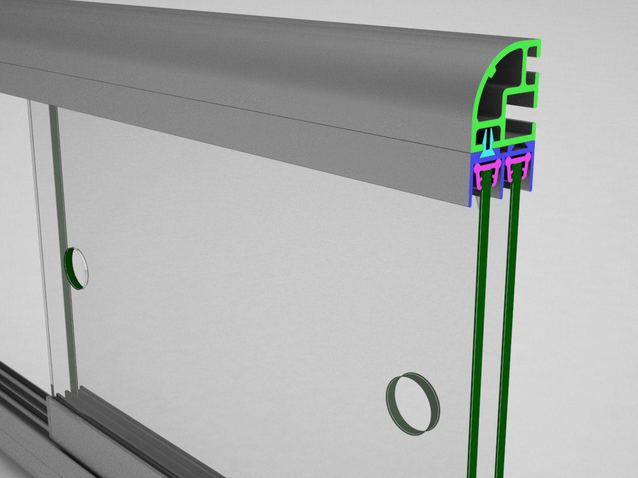 V326 Pedrosa Sistema De Perfis Modulares Estruturas De Alumínio Para Stands Displays Vitrines E Outros Equi Displays Portas De Correr Internas Aluminio