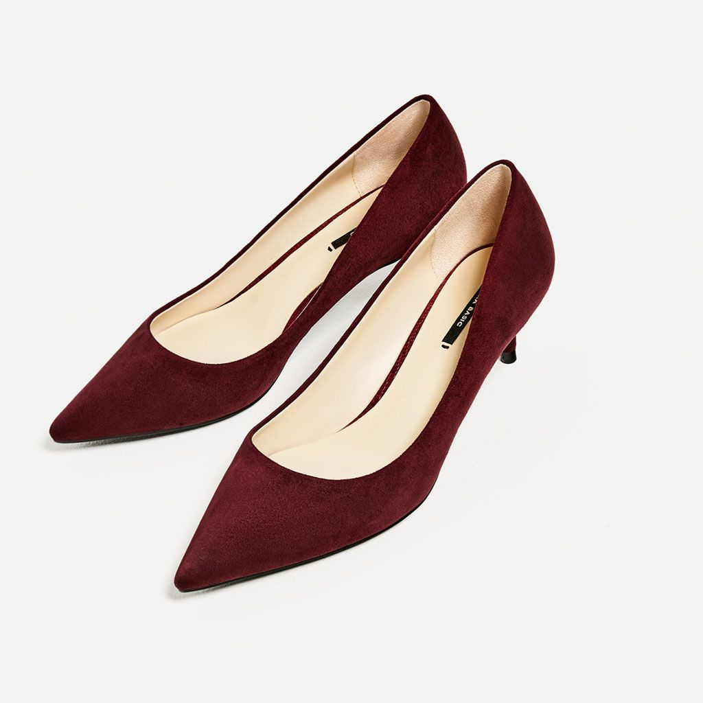 594e79b42 KITTEN HEEL SHOES-High-heels-SHOES-WOMAN   ZARA United States ...