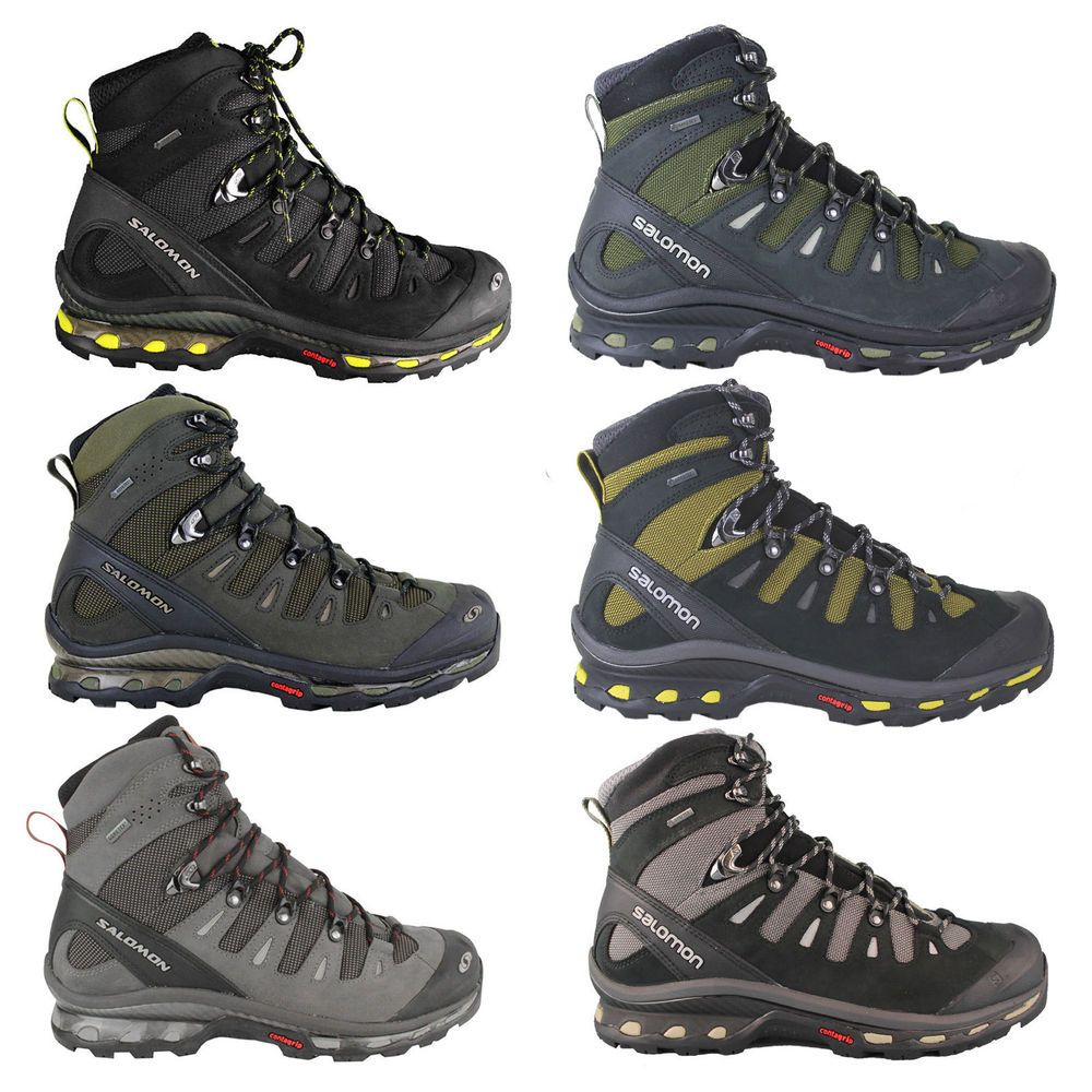 Details about Salomon Quest 4D GTX men's hiking boots ...
