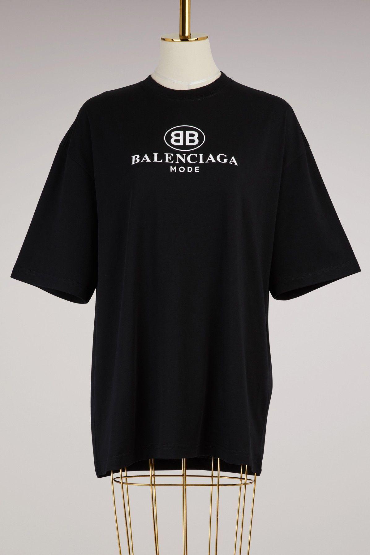 59a3c769 BALENCIAGA BB OVERSIZE T-SHIRT. #balenciaga #cloth # | Balenciaga ...