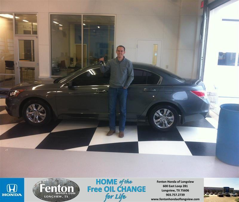 Congratulations to Landon Allen on your Honda Accord