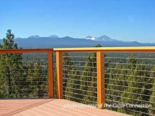 Stainless Steel Cable Railing | Cable railing, Decking and Porch