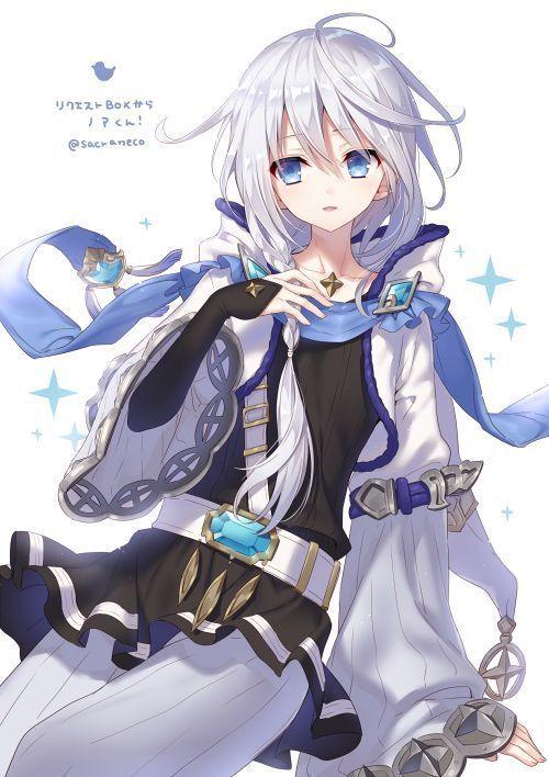 Photo of Ảnh Anime Đẹp ( 2 ) – Anime White Hair
