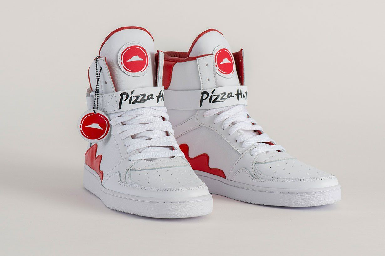 Image result for izza Hut's 'Pie Tops' Let You Order Pizza From Your Shoes