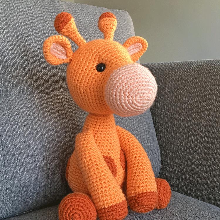 Amigurumi Pattern: Alfa Giraffe | Jirafa amigurumi, Amigurumi ... | 750x750