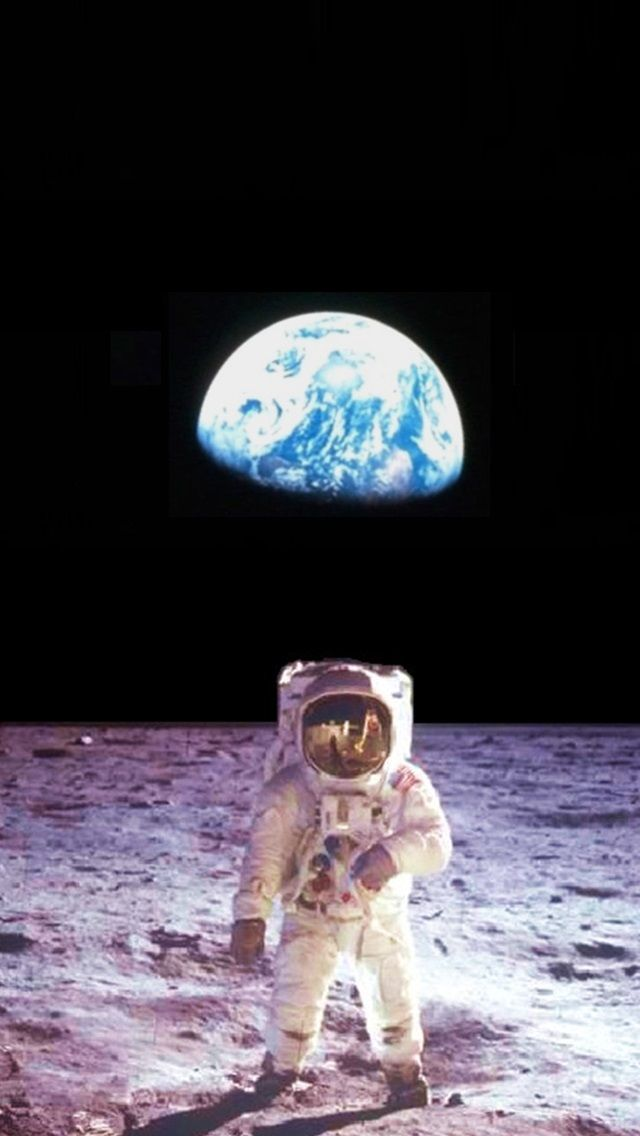 月面 宇宙飛行士 | 壁紙, ホーム画面, Iphone壁紙