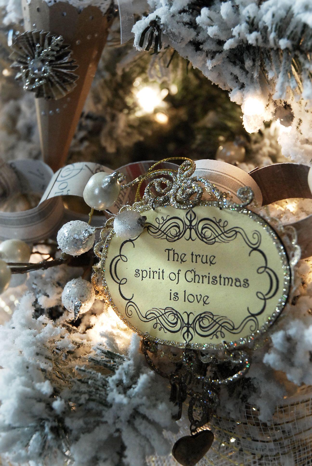 the true spirit of christmas is love navidad pinterest