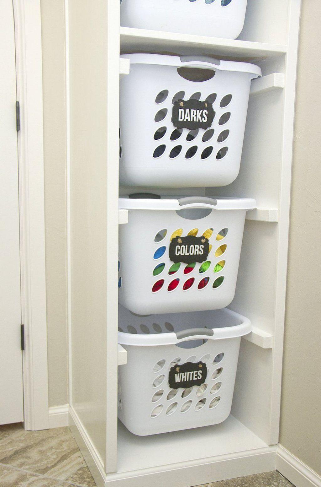 55 Smart Laundry Room Organization Ideas images