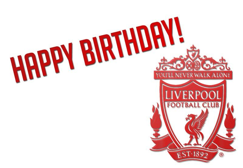 Say Happy Birthday To The Liverpool Fan In Your Life Millions Of Unique Design Happy Birthday Football Happy Birthday Wishes For Him Birthday Wishes For Him