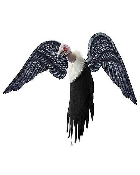 3 Ft Flying Vulture Animatronics – Decorations ...