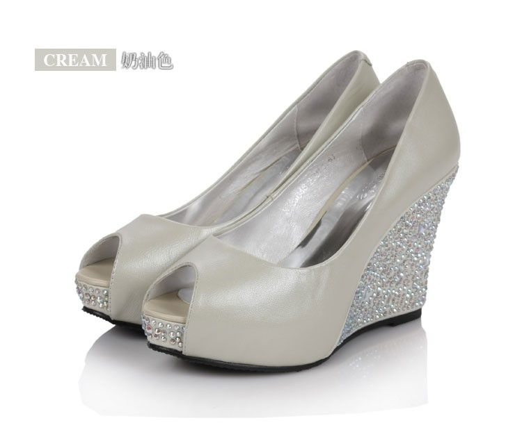 Top 25 ideas about Wedding Shoes on Pinterest | Wedge wedding ...