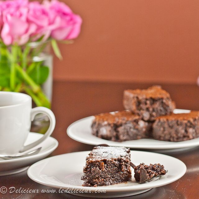 Flourless Chocolate Brownies - gluten free - mmmm