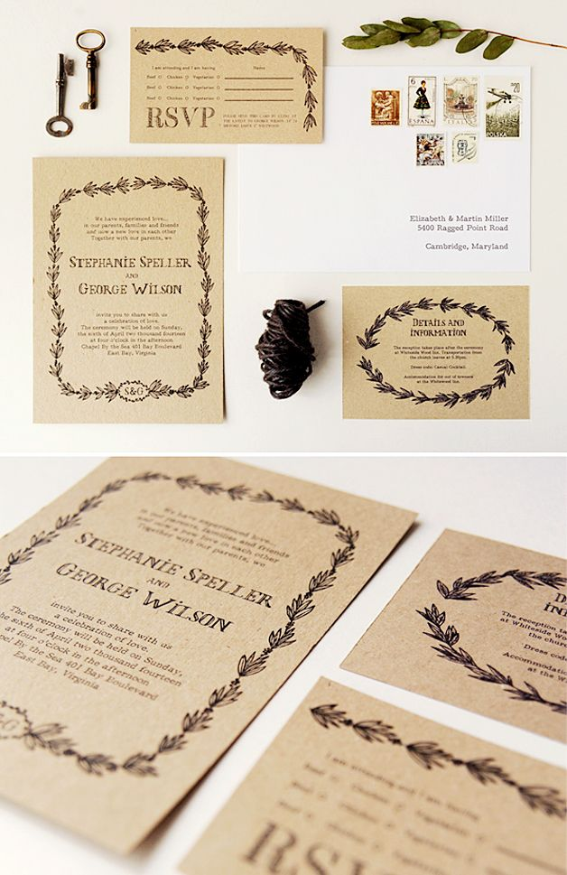 graphic relating to Free Printable Rustic Wedding Invitations named Ultimate 15 prominent rustic marriage invites principle samples upon