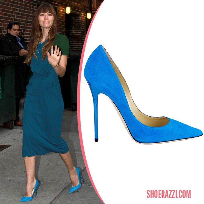 6e12dab0571 Yvonne Strahovski in Christian Louboutin So Kate Python Faience Pumps -  ShoeRazzi