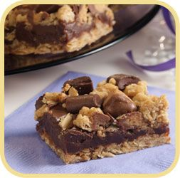 Chocolate Peanut Butter Crunch Bars