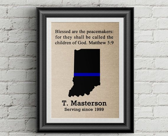 Police Officer Gifts Thin Blue Line Police Officer Gift Etsy Gifts For Office Police Officer Gifts Law Enforcement Gifts