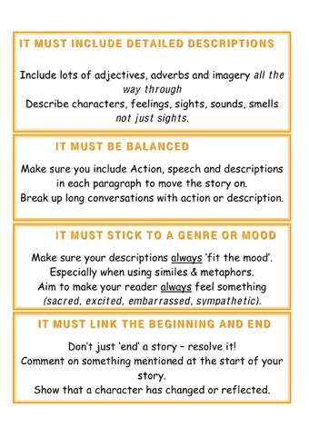 Story Writing Rules  Writing At School  Pinterest  Writing Essay  Story Writing Rules
