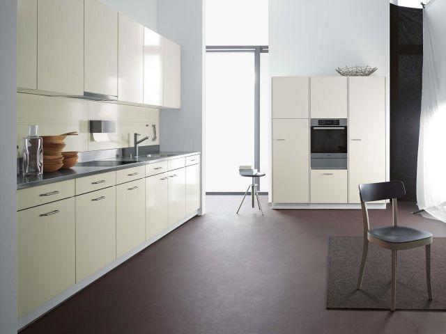 einbauküche modern ecru farbe Stahl Klassiker Forster | Inspiration ...