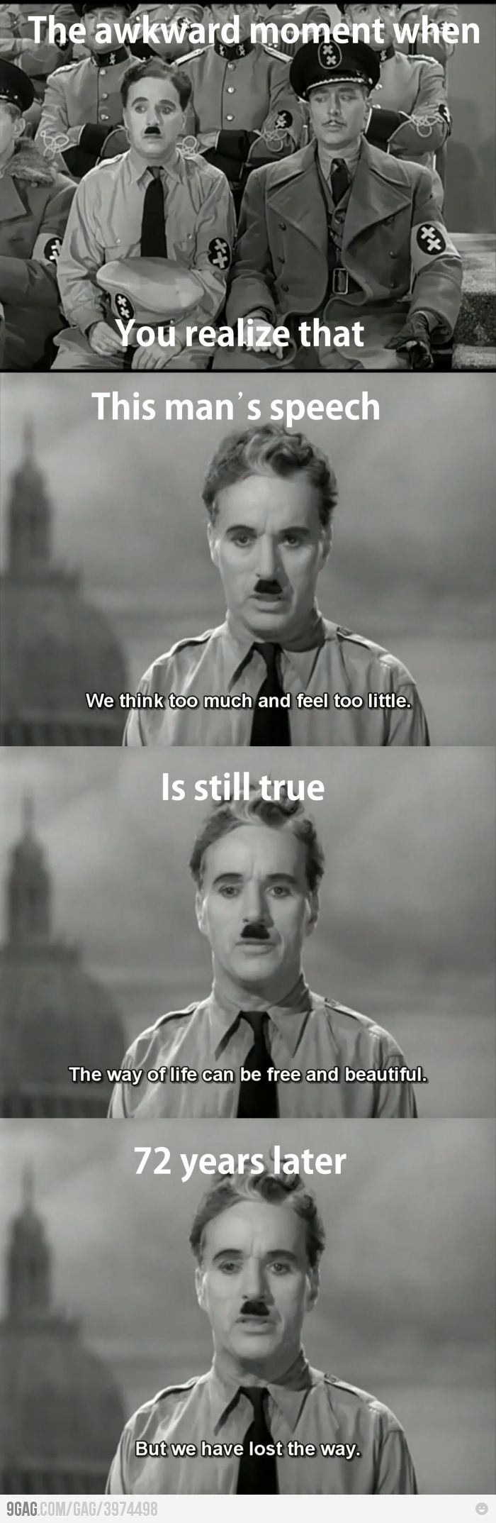 Charlie Chaplin Was Right About The Humanity Random