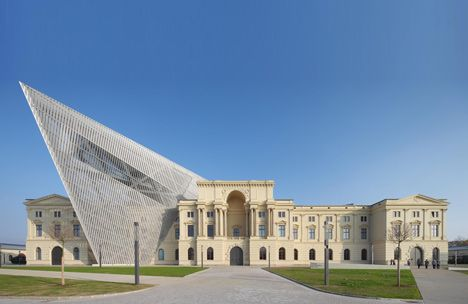 The Dresden Museum of Military History in Dresden, Germany It - marquardt k chen dresden
