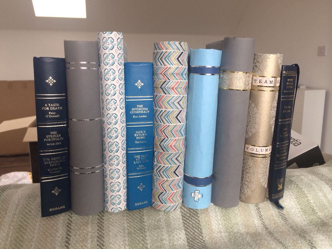 Made These Fake Books To Hide My Sky Box Toilet Rolls And