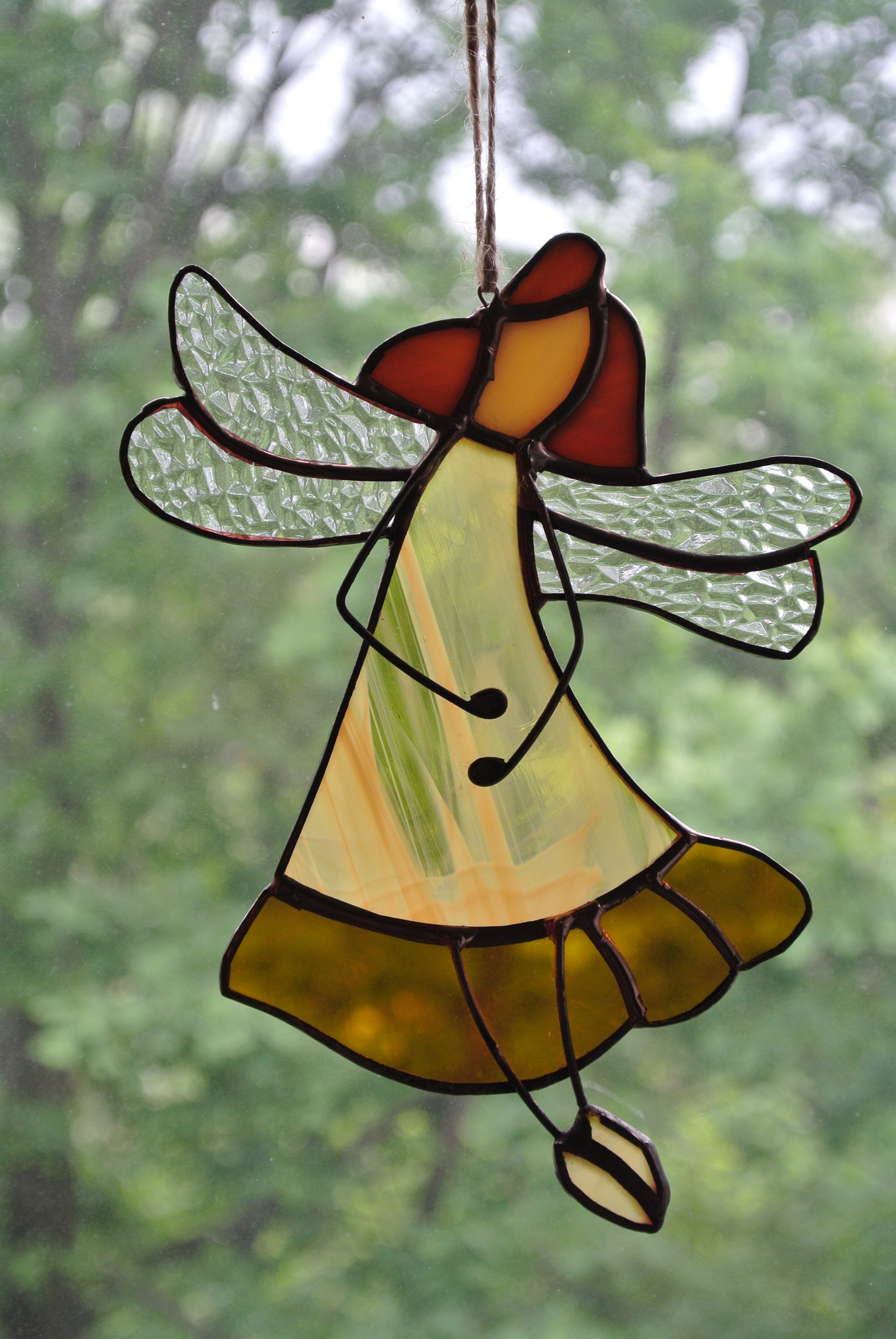 Fairy Suncatchers Stained Glass Fairy Fairy Tale Ornament Fable