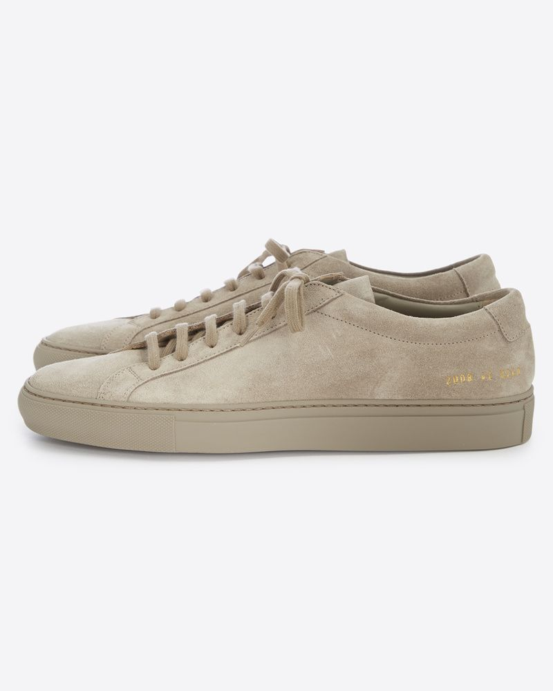 common projects achilles low suede taupe objectification pinterest common projects taupe. Black Bedroom Furniture Sets. Home Design Ideas