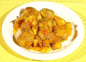 MONDO BIRRA - Pollo alla birra con patate e contorno di funghi