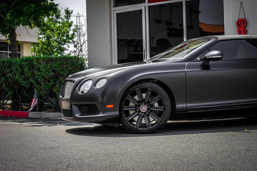 "Fresh Window Tint on Instagram ""• Bentley GT Satin"