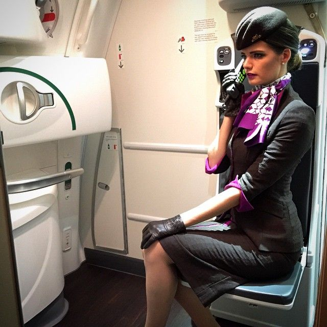 free flight attendant fetish video was when