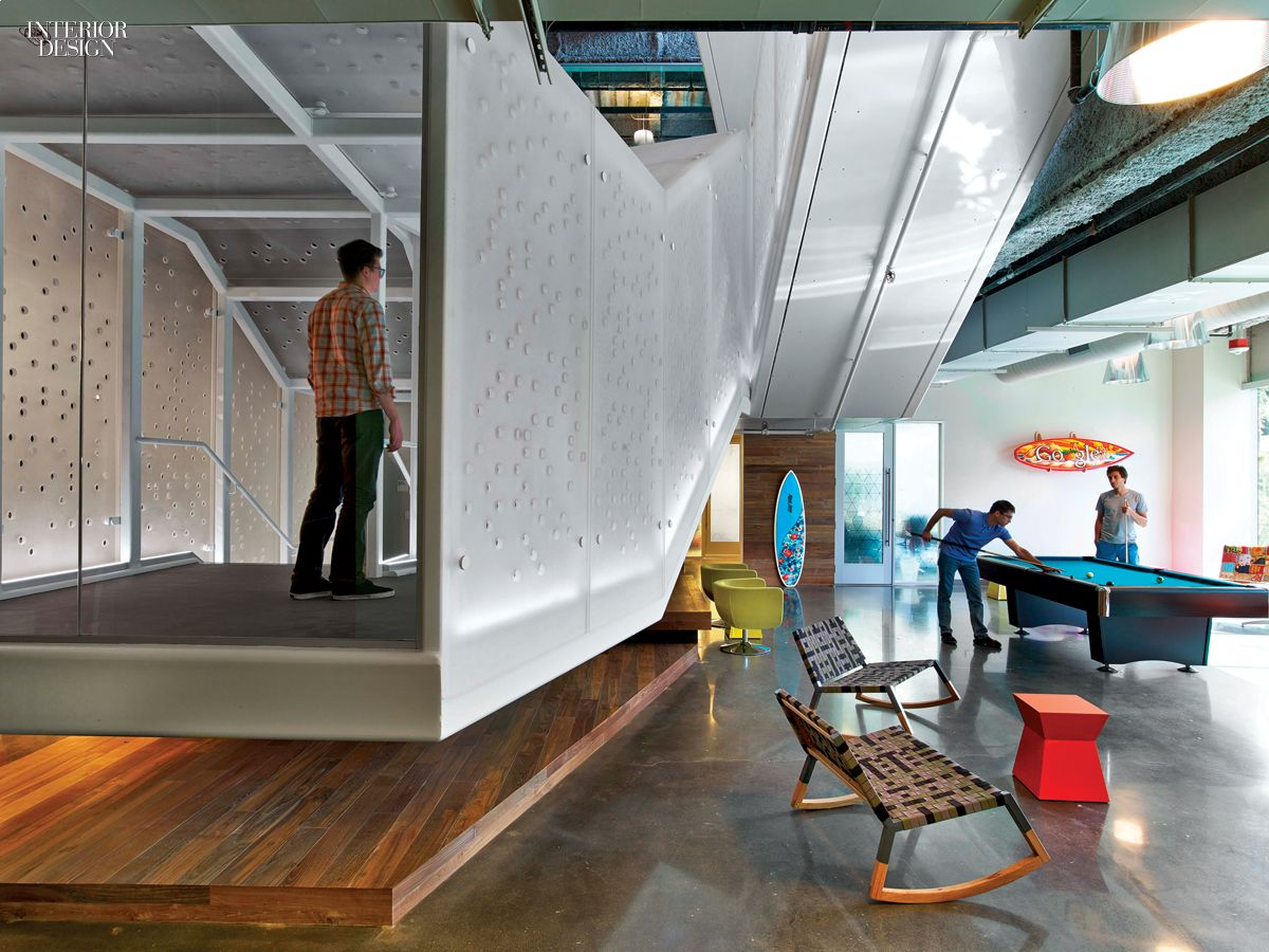 Category: Large Tech Office. Project: Google. Firm: Rapt Studio. Location: Irvine, California. Photography by Eric Laignel.