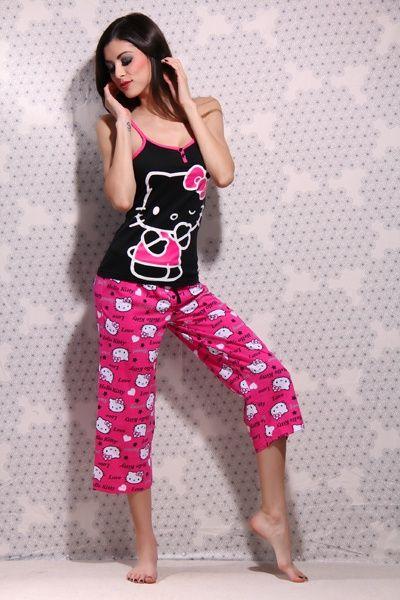 Sexy hello kitty pajamas
