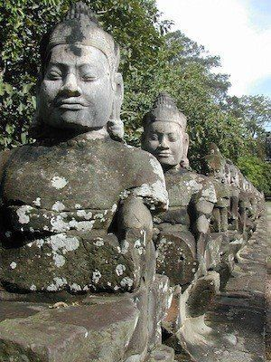 Southeast Asia: Vietnam, Cambodia, Laos and their cultural ties