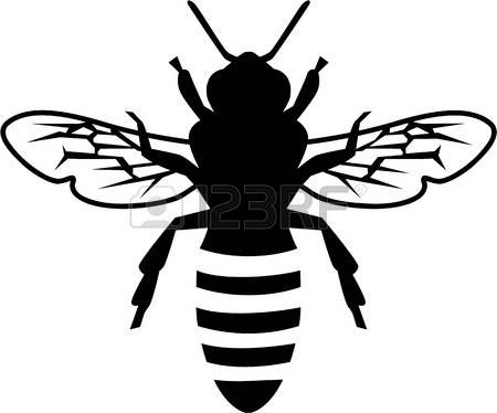 Line Quality In Art : Image result for honey bee line drawing lino pinterest tattoo