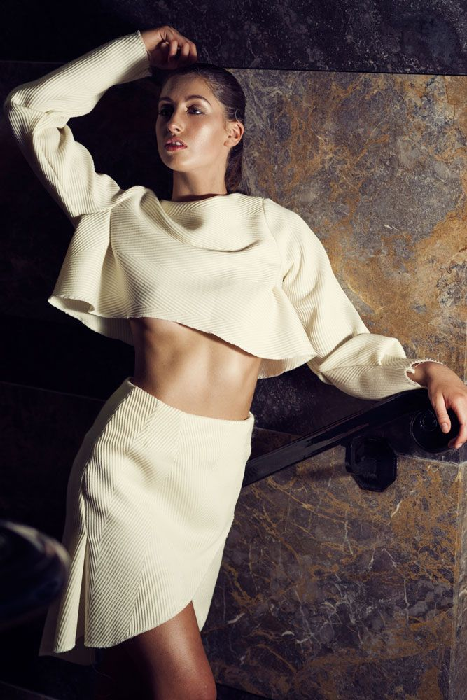 R E F O R M Experimental Sustainable Tailoring Exploration Alisha Mascurine Bachelor Of Design Fashion Rmit Creativefest