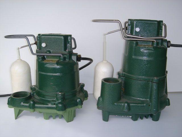 A Cast Iron Zoeller Sump Pump Sump Pump Sump Pump Installation
