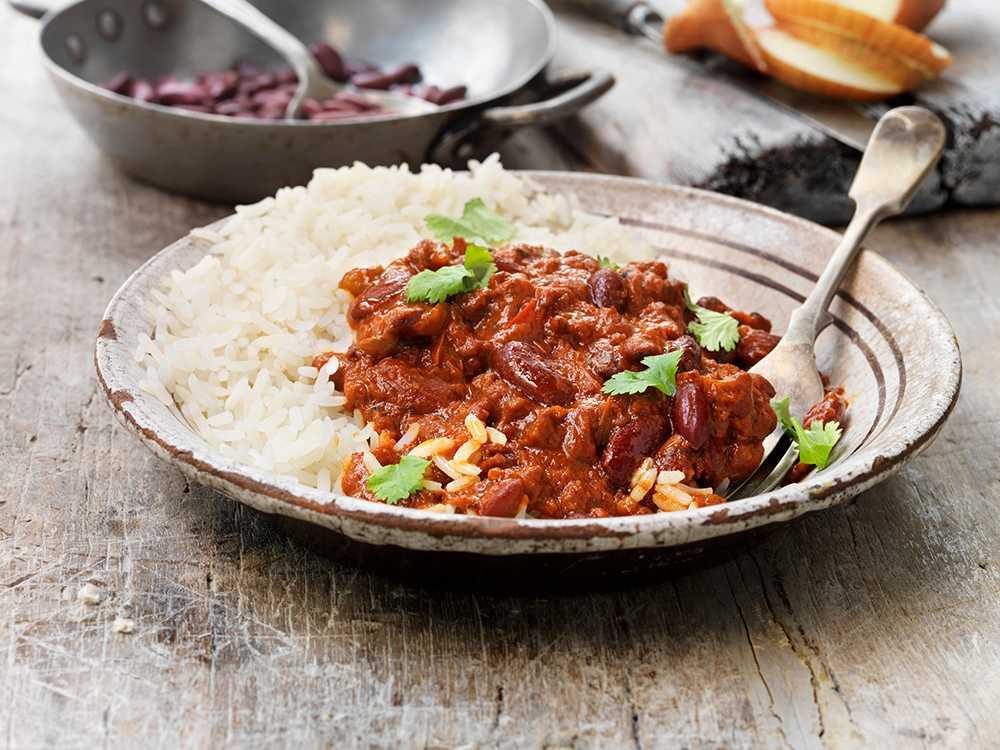 chili con carne med högrev