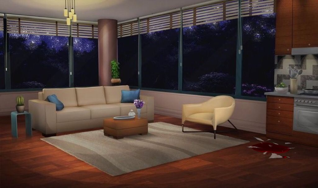 Episode Interactive Backgrounds Anime Scenery Anime Backgrounds Wallpapers Living room anime apartment background
