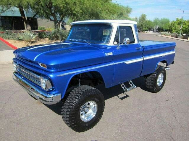 66 Chevy Truck  4X4. I need this truck in a BAD way.