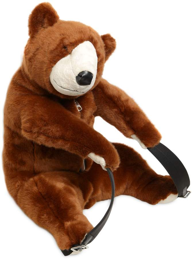 Dolce & Gabbana PLUSH BEAR SHAPED BACKPACK Outlet For Cheap OH1YgGiGQ
