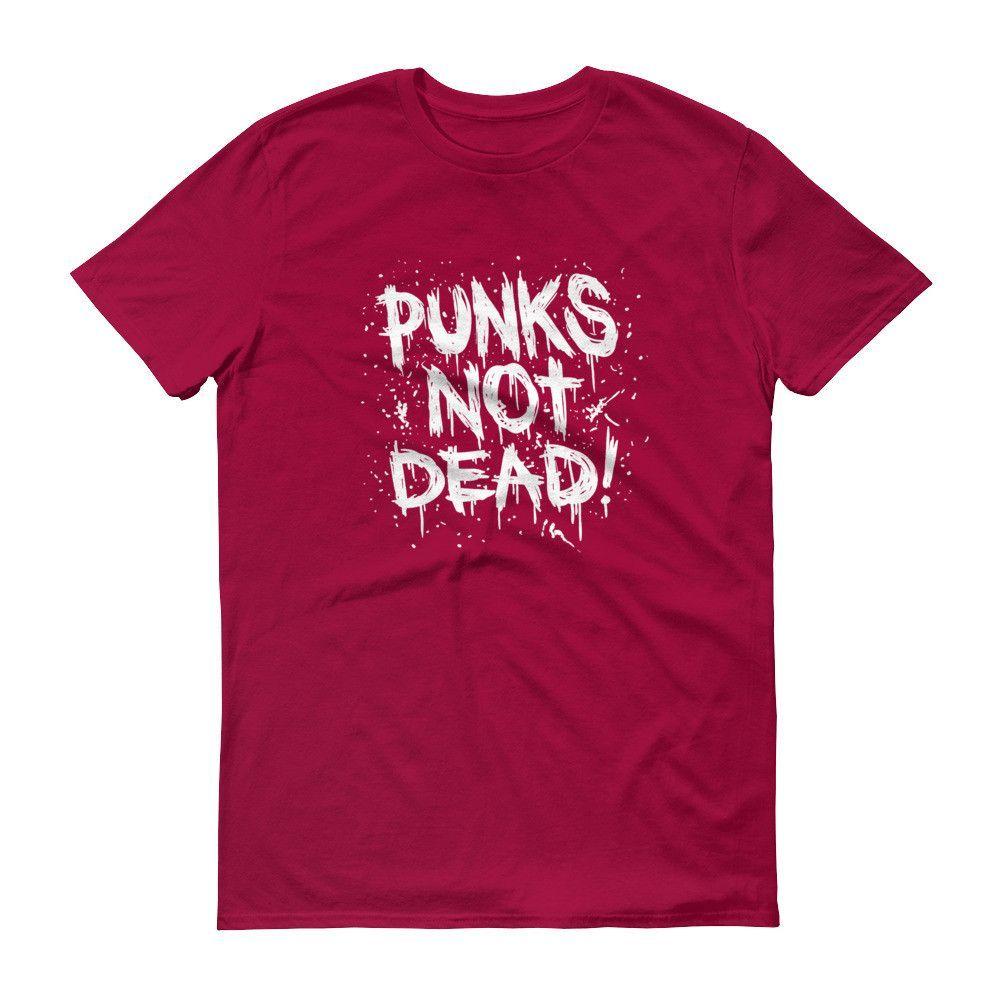 PUNK'S NOT DEAD Short sleeve unisex t-shirt