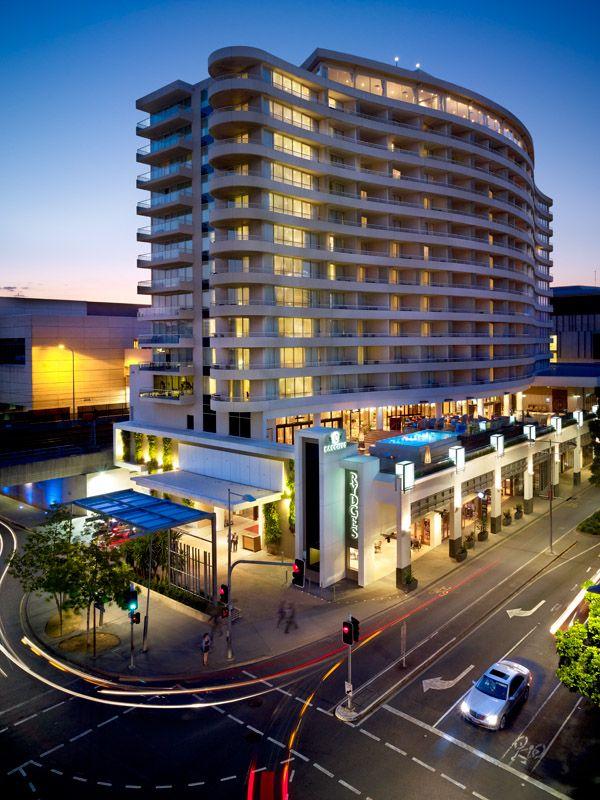 Brisbane Hotels Rydges South Bank Exterior Dusk