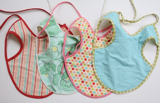 Baby aprons for gifts