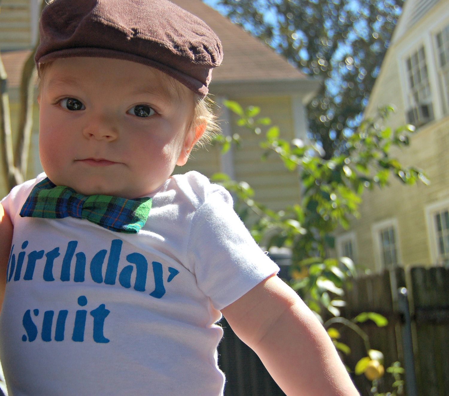 1st Birthday Boy Outfit Cake Smash Bow Tie Onesie by nolaonesie