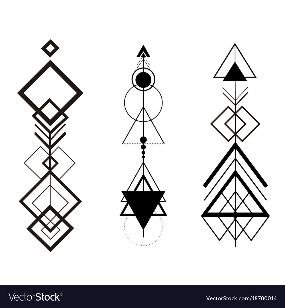 tribal hipster geometric arrows. Download a Free Preview or High Quality Adobe Illustrator Ai, EPS, PDF and High Resolution JPEG versions.